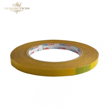 Double-sided self-adhesive tape 9 mm x 50 m
