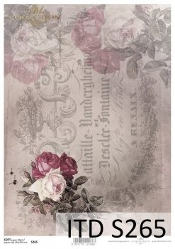 Decoupage paper Soft ITD S0265
