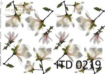 Decoupage paper ITD D0219M