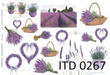 Decoupage paper ITD D0267M