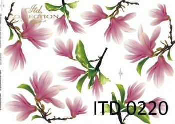Decoupage paper ITD D0220