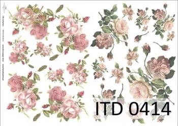 Decoupage paper ITD D0414M