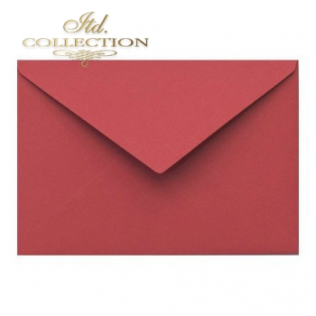 .Envelope KP04.17 'C6' 114x162 red