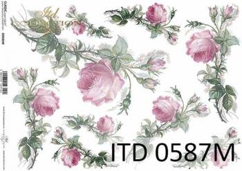 Decoupage paper ITD D0587M