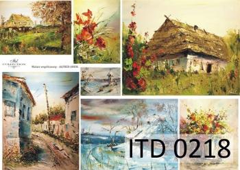 Decoupage paper ITD D0218
