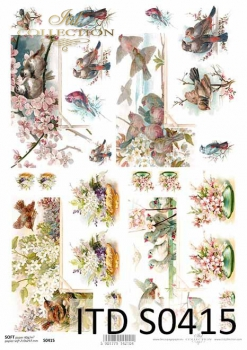 Decoupage paper Soft ITD S0415