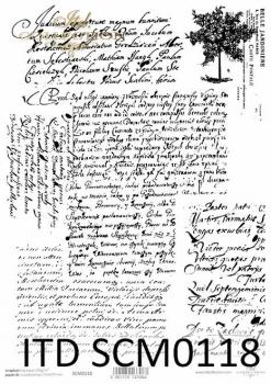 scrapbooking paper SCM0118