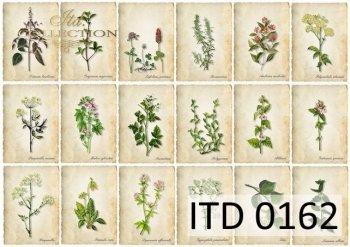 Decoupage paper ITD D0162M