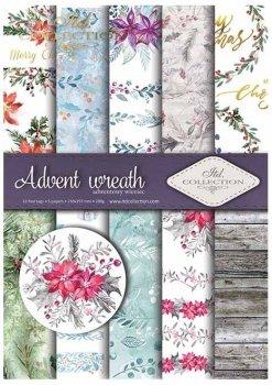 Scrapbooking papers SCRAP-020 ''Advent wreath''