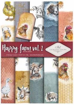 Scrapbooking papers SCRAP-038 ''Happy farm vol.2''