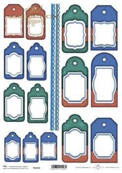 Tags, frames to scrapbooking TAG0030