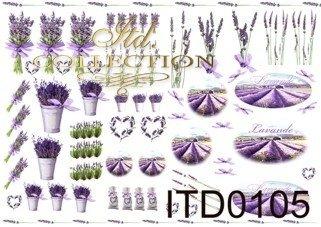 Decoupage paper ITD 0105M