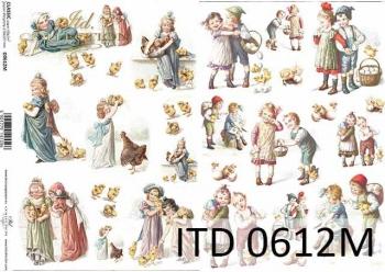 Decoupage paper ITD D0612M