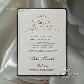 Holy Communion Invitation 2070z