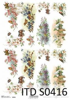 Decoupage paper Soft ITD S0416