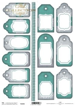 Tags, frames to scrapbooking TAG0006