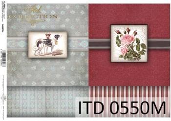 Decoupage paper ITD D0550M