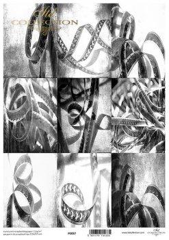 Translucent scrapbooking paper P0087