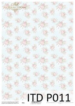 Translucent scrapbooking paper P0011