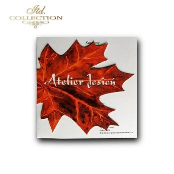 Greeting card Autumn