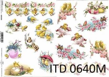 Decoupage paper ITD D0640M