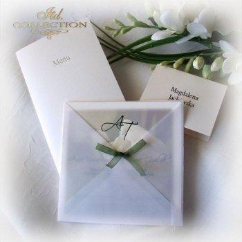 Invitations / Wedding Invitation 1721_tulip