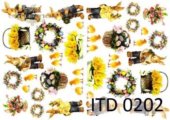 Decoupage paper ITD D0202M