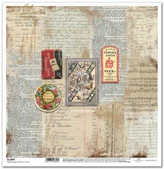 Papier scrapbooking SL1044