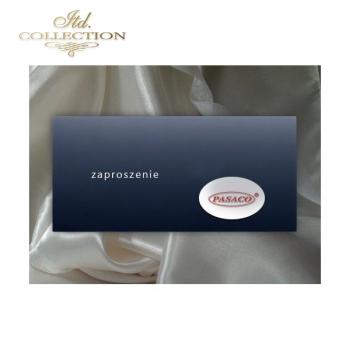 Zaproszenie biznesowe ZB1009 z kopertą