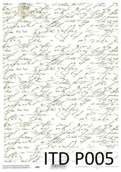 Pergamin do scrapbookingu P0005
