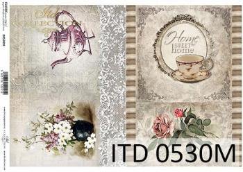 Papier decoupage ITD D0530M