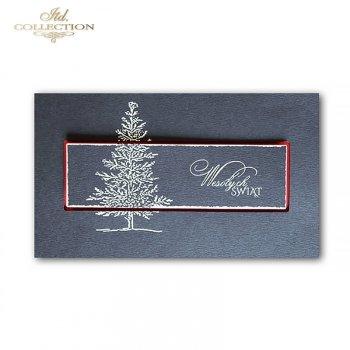 Kartki bożonarodzeniowe / Kartka świąteczna K548