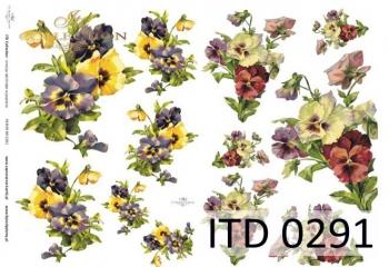 Papier decoupage ITD D0291