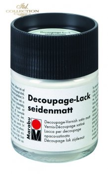 Lakier do decoupage Marabu 50 ml satynowy 846