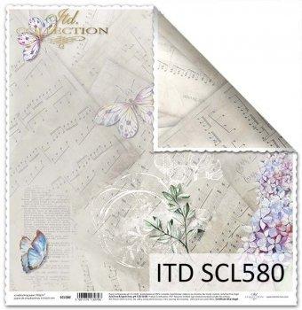 Papier scrapbooking SCL580