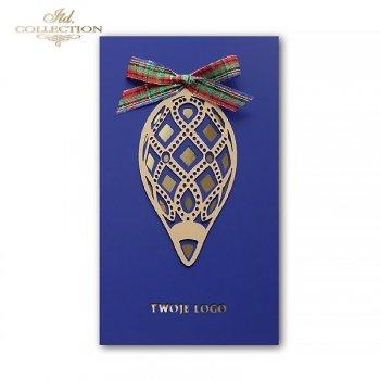 Kartki bożonarodzeniowe / kartka świąteczna K610