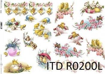 Papier ryżowy ITD R0200L