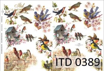 Papier decoupage ITD D0389M