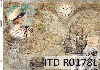 Papier ryżowy ITD R0178L
