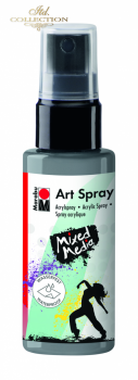 Acrylic spray Marabu Art 50 ml - Silver 082