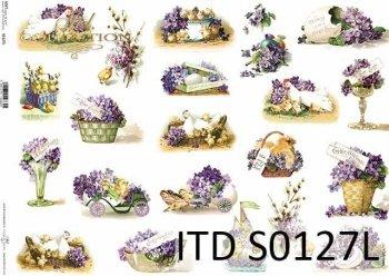 Papier decoupage SOFT ITD S0127L