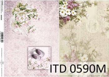 Papier decoupage ITD D0590M
