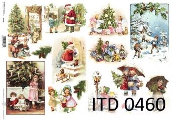 Papier decoupage ITD D0460M