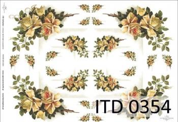 Papier decoupage ITD D0354M