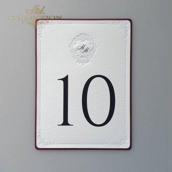 Numery stołów 2011