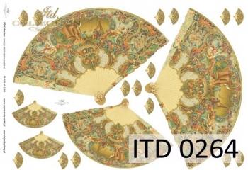 Papier decoupage ITD D0264