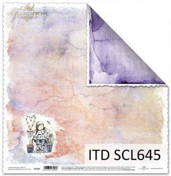 Papier scrapbooking SCL645