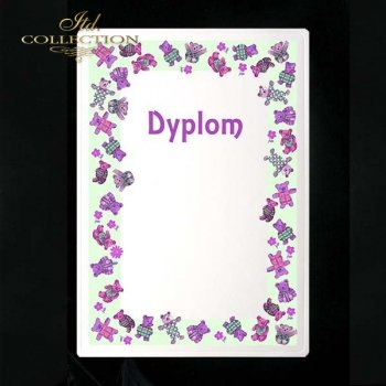 dyplom DS0025