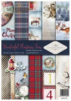 Papier do scrapbookingu SCRAP-051 ''Wonderful christmas time''