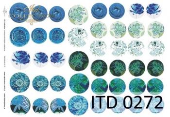 Papier decoupage ITD D0272